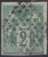 YT30 Sage 2c Vert - Losange Points Noirs - Sage