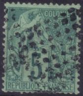 YT49 Alphee Dubois 5c -Losange Points Noirs