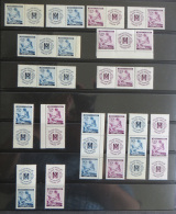 Böhmen Und Mähren 62-63 W Zd 9 - S Zd 16 Postfrisch Rotes Kreuz  Zusammendrucke