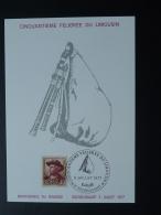 Carte Maximum Card Instrument Cornemuse Bagpipe Felibree Du Limousin 87 Rochechouart Haute Vienne 1977 - Musik