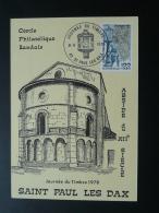 Carte Maximum Card Facteur Postman Journée Du Timbre 1978 St Paul Les Dax 40 Landes - Stamp's Day