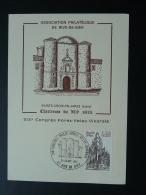 Carte Maximum Card Congres Philatelique Forez Velay Vivarais 42 Rive De Gier Loire 1981