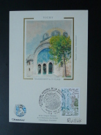 Carte Maximum Card Thermalisme Signée Quillivic Vichy 03 Allier 1981 - 1980-89