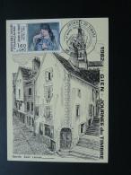 Carte Maximum Card Journée Du Timbre Gien 45 Loiret 1982