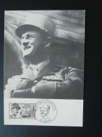 Carte Maximum Card General Leclerc Liberation Amiens 80 Somme 1987 - 2. Weltkrieg