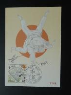 Carte Maximum Card Judo Signée (par L'athlète?)  St-Pierre Et Miquelon 1989