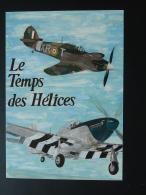 Carte Maximum Card Temps Des Hélices Meeting Aérien La Ferté Alais 91 Essonne 1990 - Vliegtuigen