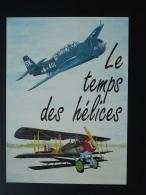 Carte Maximum Card Temps Des Hélices Meeting Aérien La Ferté Alais 91 Essonne 1991 - Vliegtuigen