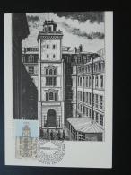 Carte Maximum Card Télégraphe Chappe Telegraph Telegraphy Saint Martin Du Tertre 95 Val D'Oise 1993