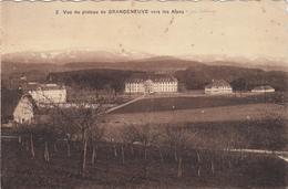 Vue Du Plateau De Grangeneuve Vers Les Alpes - Autres Communes