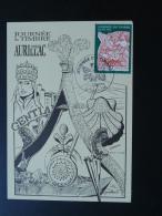Carte Maximum Card St-Jacques De Compostelle Journée Du Timbre 1998 Aurillac 15 Cantal