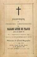Image Religieuse Ou Pieuse - Souvenir Du Premier Centenaire De Madame Louise De France En 1787 (fille De Louis XV)