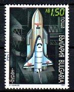 BULGARIE. N°3389 Oblitéré De 1991. Navette Spatiale.