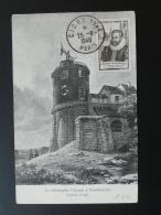 Carte Maximum Card  Télégraphe Chappe Telegraphy Oblit. Congrès CIGRE Paris 1948