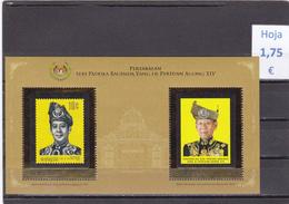 Malasia  -   Hoja Bloque  Nueva**  -  5/5087