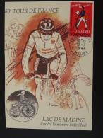 Carte Maximum Card Cyclisme Cycling Tour De France 55 Saint Mihiel Meuse 1993