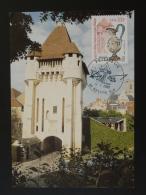 Carte Maximum Card Porte Du Croux Signée Albuisson Nevers 58 Nievre 2000