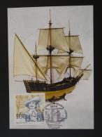 Carte Maximum Card Explorateur Explorer Canada Dugua De Mons 17 Royan 2004