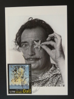 Carte Maximum Card Salvador Dali 66 Perpignan 2004