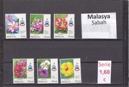 Malasia  Sultanatos  -   Serie Completa  Nueva**  -  5/5087