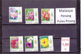 Malasia  Sultanatos  -   Serie Completa  Nueva**  -  5/5089
