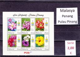 Malasia  Sultanatos  -   Hoja Bloque  Nueva**  -  5/5090