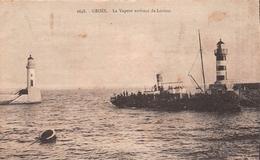 ¤¤   -   2448   -  ILE-de-GROIX   -  Le Vapeur Arrivant De Lorient  -  Phares      -   ¤¤ - Groix