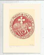 Carte De Voeux , 4 Pages , Religion , AGNEAU PASCAL , Signée : B. Ylla , Vierge - Christentum