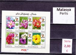 Malasia  Sultanatos  -   Hoja Bloque  Nueva**  -  5/5094