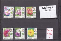 Malasia  Sultanatos  -   Serie Completa  Nueva**  -  5/5093