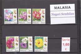 Malasia  Sultanatos  -   Serie Completa  Nueva**  -  5/5097