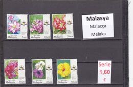 Malasia  Sultanatos  -   Serie Completa  Nueva**  -  5/5099