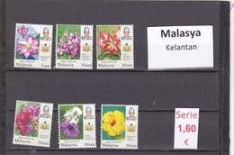 Malasia  Sultanatos  -   Serie Completa  Nueva**  -  5/5101