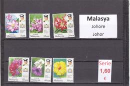 Malasia  Sultanatos  -   Serie Completa  Nueva**  -  5/5105