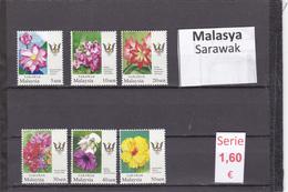 Malasia  Sultanatos  -   Serie Completa  Nueva**  -  5/5107