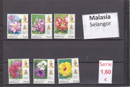 Malasia  Sultanatos  -   Serie Completa  Nueva**  -  5/5109