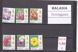 Malasia  Sultanatos  -   Serie Completa  Nueva**  -  5/5111