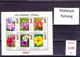 Malasia  Sultanatos  -   Hoja Bloque  Nueva**  -  5/5096