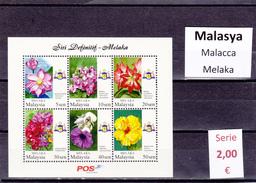 Malasia  Sultanatos  -   Hoja Bloque  Nueva**  -  5/5100