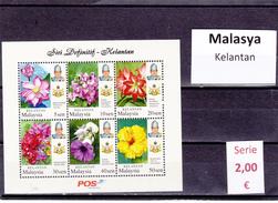 Malasia  Sultanatos  -   Hoja Bloque  Nueva**  -  5/5102