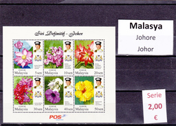Malasia  Sultanatos  -   Hoja Bloque  Nueva**  -  5/5106