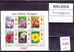 Malasia  Sultanatos  -   Hoja Bloque  Nueva**  -  5/5112