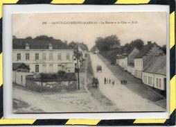 DPT 62 - SAINTE-CATHERINE-LES-ARRAS. - . LA MAIRIE ET LA CÔTE - Other Municipalities