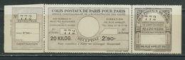 FRANCE Colis Postaux Paris Pour Paris N° 98 (*)