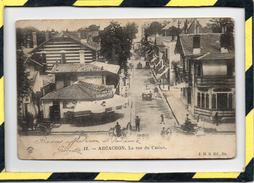 DPT 33 - ARCACHON. - . LA RUE DU CASINO. J. H. B. ED. BORDEAUX - Arcachon