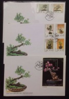 FDC Vietnam Viet Nam Covers 1998 With Perf SS & Stamps : Bonsai / Flora / Plant (Ms773)