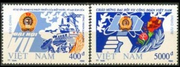 FDC Vietnam Viet Nam Cover 1993 With Imperf Stamps Of 7th Congress Of Vietnamese Trade Union / Oil Rig / Plane (Ms669)