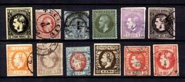Roumanie Douze Classiques 1862/1872. Bonnes Valeurs. A Saisir!