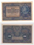 Poland 100 Marek 1919 In (aXF) CRISP Banknote - Pologne