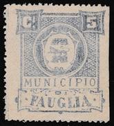 Italy Revenues Local Municipal Marca Da Bollo Comunale FAUGLIA